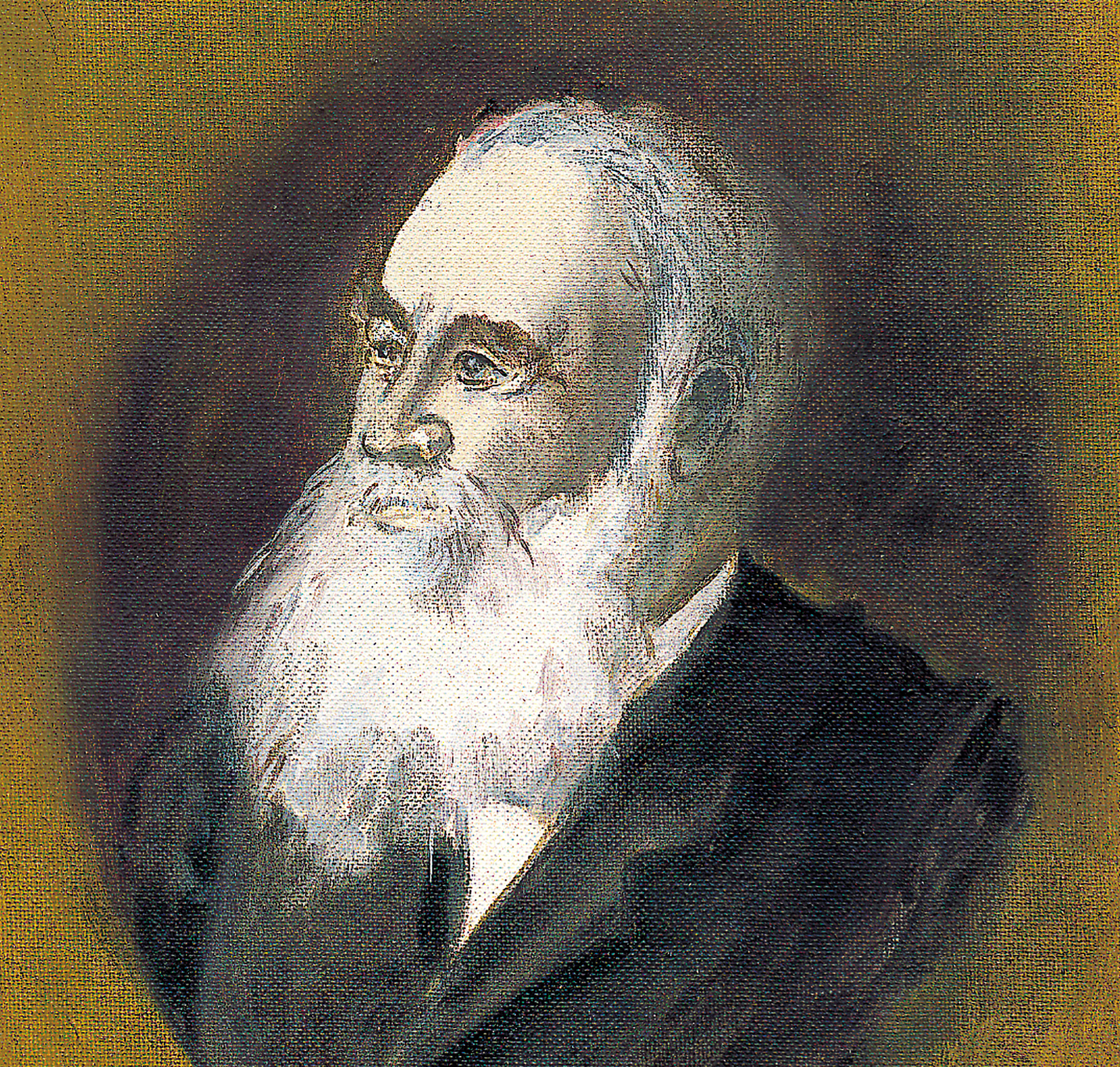 Portrait Painting of Dr Franz Schoenfeld, founder of Lukas